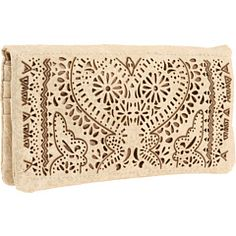 Love the lazer cut out design on this Big Buddha wallet