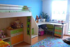 Dětské pokoje Inkea - pracovní stoly, vestavěné skříně Loft, Bed, Furniture, Home Decor, Decoration Home, Stream Bed, Room Decor, Lofts, Home Furnishings
