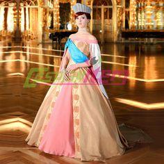 Robe jaune princesse adulte