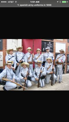 The Spanish American War, American History, Cuba, Disco Fashion, Rough Riders, Military Uniforms, Spanish Colonial, Military History, Us Army