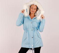 68# (Égkék) Prémes szövetkabát | viyou.hu Rain Jacket, Windbreaker, Pink, Jackets, Fashion, Down Jackets, Moda, La Mode, Jacket