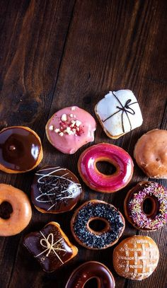 Coffee donuts wallpapers for iPhone and Android.☕🍩 Click the link below for Tech News and Gadget updates Food Background Wallpapers, Food Wallpaper, Food Backgrounds, Cute Wallpapers, Iphone Wallpaper, Wallpaper Ideas, Coffee And Donuts, Delicious Donuts, Cute Desserts