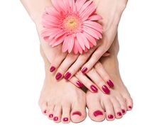 Manicure & Pedicure Combo!  Come to Luxury Spa & Nails for all of your pampering needs! Call (803) 731-2122 or visit www.luxuryspaandnails.weebly.com for more information!