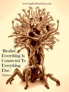 Alles is verbonden met alles