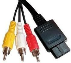 GameCube AV TV Cable