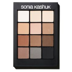 Sonia Kashuk® Eye Couture Eye Palette - Eye On Neutral 02. It's all matte!!!