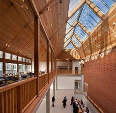 2011 Highly Commended. The Apex, Arc, Bury St Edmunds, Suffolk by Hopkins Architects using American white oak, Siberian larch amd European redwood. Full info http://www.woodawards.com/the-apex-arc-bury-st-edmunds/