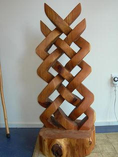 Celtic Knot Sculpture Sculpture  - Celtic Knot Sculpture Fine Art Print. BADASSS!!!
