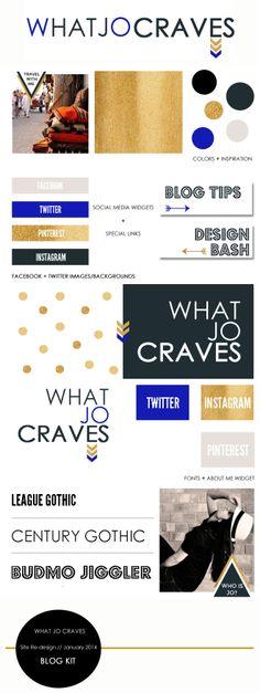 blog design kit - what jo craves // whatjocraves.com & designbash.com