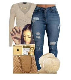"""""""Happy Thanksgiving"""" by fashionkilla-lex ❤ liked on Polyvore featuring Chanel and UGG Australia"""