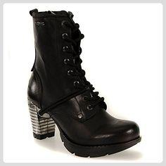 New Rock Stiefel Style TR001 (Schwarz) - 39 - Stiefel für frauen (*Partner-Link)