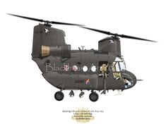 Boeing Chinook s/n A15-104C Sqn. 5th AVN Reg.