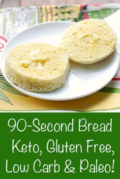 Craving bread but don't want to break your diet? Here are 8 of the Best Keto Homemade Bread Recipes that's sure to please. From low carb white bread to bagels to cheesy biscuits, discover it here and never worry about your carb count again! Lowest Carb Bread Recipe, Low Carb Bread, Low Carb Keto, Low Carb Recipes, Cooking Recipes, Healthy Recipes, Bread Recipes, Easy Recipes, Keto Mug Bread