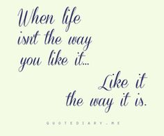 like it | the way it is