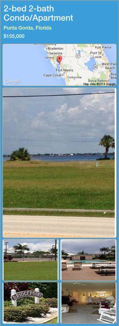 2-bed 2-bath Condo/Apartment in Punta Gorda, Florida ►$155,000 #PropertyForSaleFlorida http://florida-magic.com/properties/51240-condo-apartment-for-sale-in-punta-gorda-florida-with-2-bedroom-2-bathroom