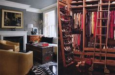 Closet (Brooke Shields shot for Architectural Digest)