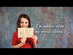 Siblings put it simply: what it's like to have brother/sister with special needs    Out of the mouth of babes!