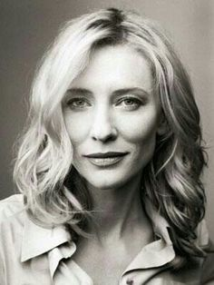 Cate Blanchett - an inspirational diverse actor who always surprises me with her roles. Highly respected.