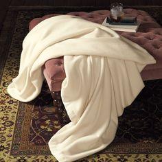 Old world elegance- luxury cashmere blanket