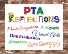 PTA Reflections 2015-2016 Theme Let Your by DelARTDesigns on Etsy