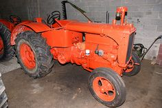 Allis Chalmers U Tractor- First tractor to be fitted with rubber tires.