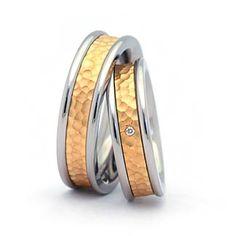 Trauringe 6mm breit Weißgold 585 Eheringe Hochzeitsringe 6 mm ...