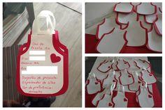 Convite para chá de panela: passo a passo! Arteiras de Coração www.arteirasdecoracao.com.br
