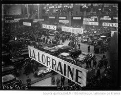 Vue du salon de l'Automobile au Grand Palais 1932