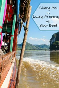 Hitting the mighty Mekong River upon a slow boat cruise from Chiang Mai to Luang Prabang in Laos... Backpacker tips and tricks!
