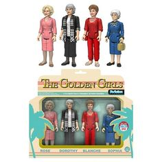 Funko ReAction Golden Girls 4PK Mini Figure : Target