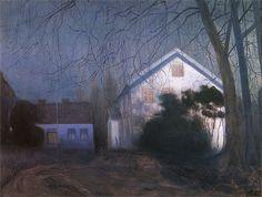Harald Oskar Sohlberg - Moonlight,1909