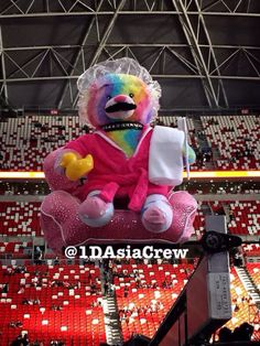 RBB can't wait to take a relaxing bath.