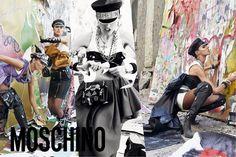 Die Moschino Girls Get Rebellious für den Herbst '16 Kampagne - http://bestemoderne-mode.com/die-moschino-girls-get-rebellious-fur-den-herbst-16-kampagne-2/