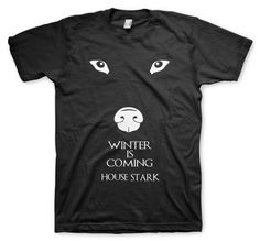 house stark remeras color animal winter is coming game og htrone Game Of Thrones, House Stark, Winter Is Coming, Animal, Games, Color, Plays, Colour, Animals