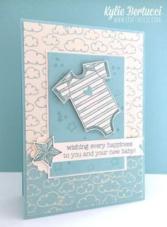 Made with Love Baby Boy Card
