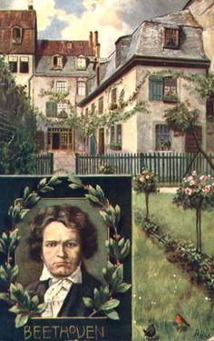 Ludwig van Beethoven - Birthplace In Bonn, Germany
