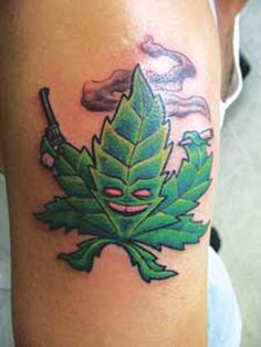 24 Best Weed Related Tattoos Images Leaf Tattoos Weed Tattoo