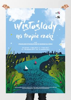 Poster by Jankiewicz Studio for Museum for Children #river