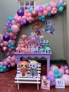 Paw Patrol Birthday Decorations, Paw Patrol Birthday Girl, 4th Birthday Parties, 3rd Birthday, First Birthdays, Instagram, Paw Patrol Birthday Cake, Butterfly Birthday Party, Panda Birthday Party