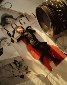 LILY COLE ON OLD VOGUE COVER  LONDON, 2004, TIM WALKER