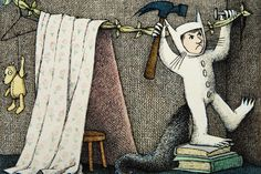 """""""The night Max wore his wolf suit and made mischief of one kind..."""" Where the Wild Things Are, Maurice Sendak."""