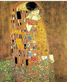 The artist once seen, never forgotten & these Klimt pages will show you why. Gustav Klimt was the principal Austrian Jugendstil (Art Nouveau) painter, and one of the founders of the Vienna Sezession although he resigned in Art Klimt, Art Nouveau, Art Amour, Kiss Painting, Selling Art, Art Design, Art Plastique, Famous Artists, Love Art