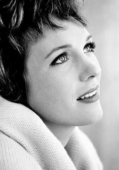 Julie Andrews - fresh face, gorgeous voice, and talented actress