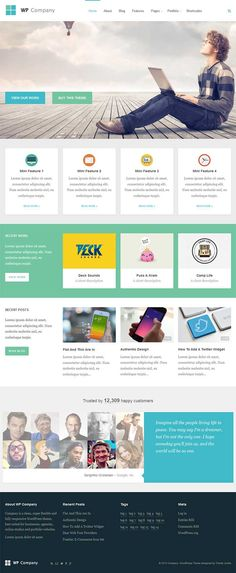 Company WordPress Theme - Business WordPress Theme