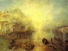 Ancient Italy Ovid Banished from Rome William Turner.