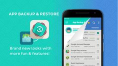 App Backup & Restore Requirements: Varies with device Overview: App Backup & Restore is used to backup and restore apps for android. Grey Wallpaper Android, World Map Wallpaper, Trendy Wallpaper, Android Theme, Best Android Games, Android Apps, Catch App, Data Backup, Wifi Router
