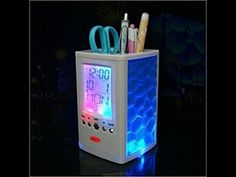 Charming Pen Holder - Desk Organizer - UnBox & Setup guide - Temperature...