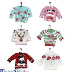 Ugly Christmas Sweater Card/Tags found on Damask Love blog ...