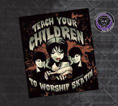 Roller Derby Sticker Teach Your Children to by blacksheepclothing, $3.00