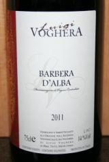 Barbera D'Alba 2011, Luigi Voghera, DOC, Piemonte, Italië -